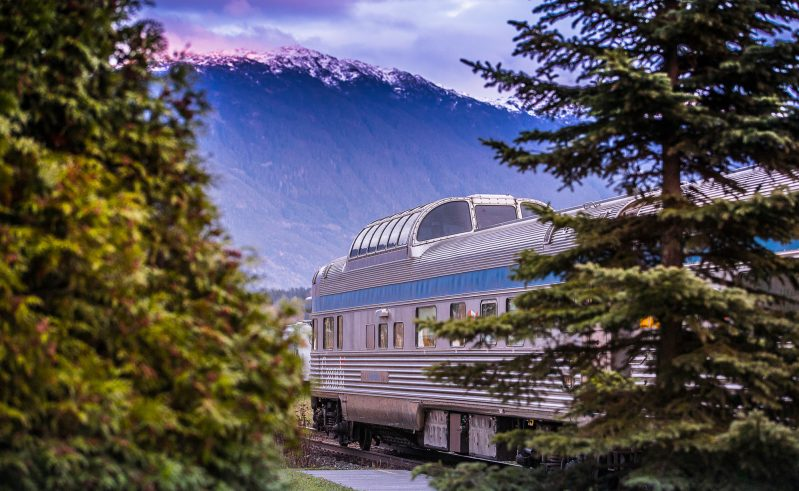 canada via rail the skeena route