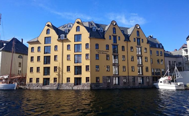 clarion collection hotel bryggen exterior
