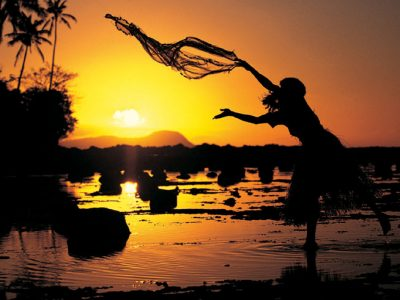fiji sunset local casting fishing net tf