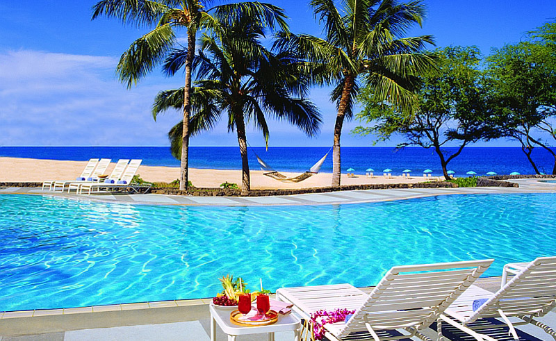 hapuna beach hotel pool