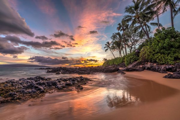 hawaii maui sunset beach istk