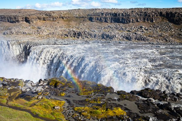 iceland north east dettifoss summer view istk