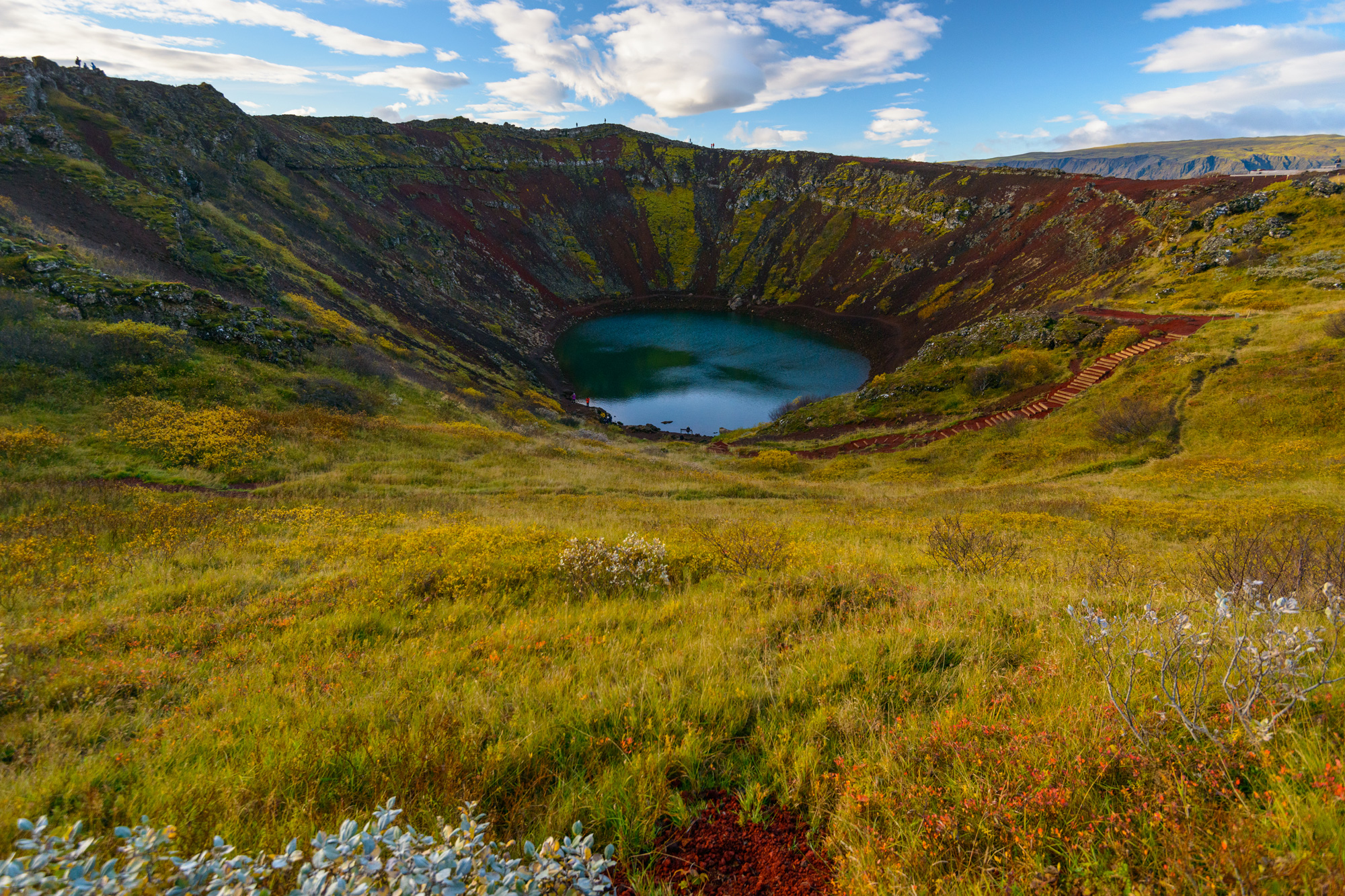 iceland south west kerid crater istk