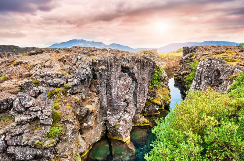 iceland south west thingvellir national park summer istock