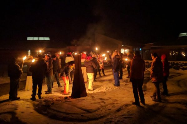 iceland west new years eve torches hhusa