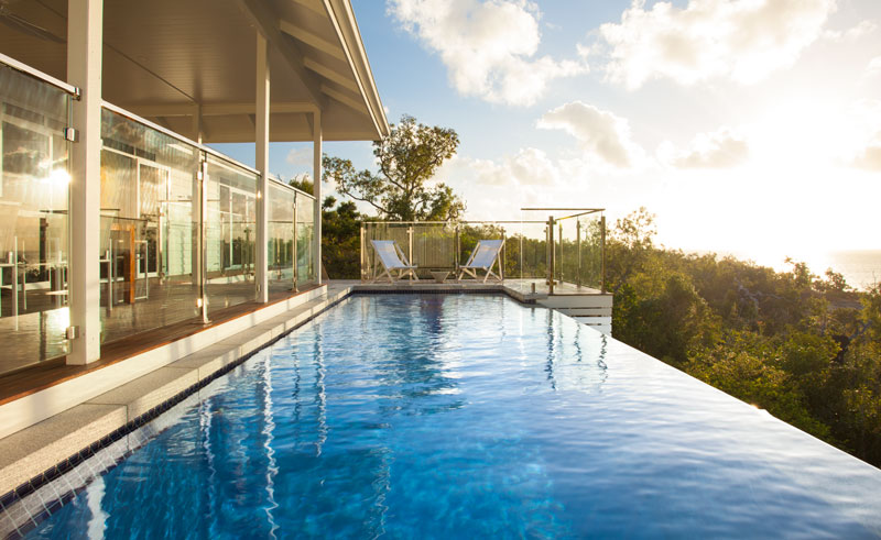 lizard island villa pool