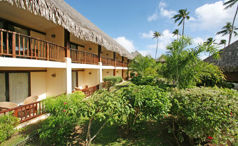 manava beach resort and spa garden room exterior