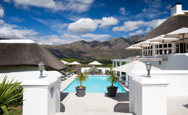 mont rochelle and vineyard pool