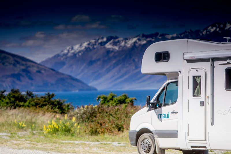 new zealand maui motorhome queenstown mountain view