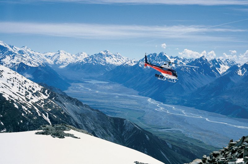 new zealand mt cook scenic heli flight tnz