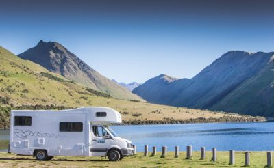 new zealand queenstown maui motorhome parked