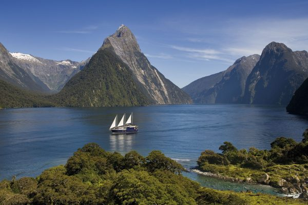 new zealand southern lakes milford sound mitre peak cruise rjnys