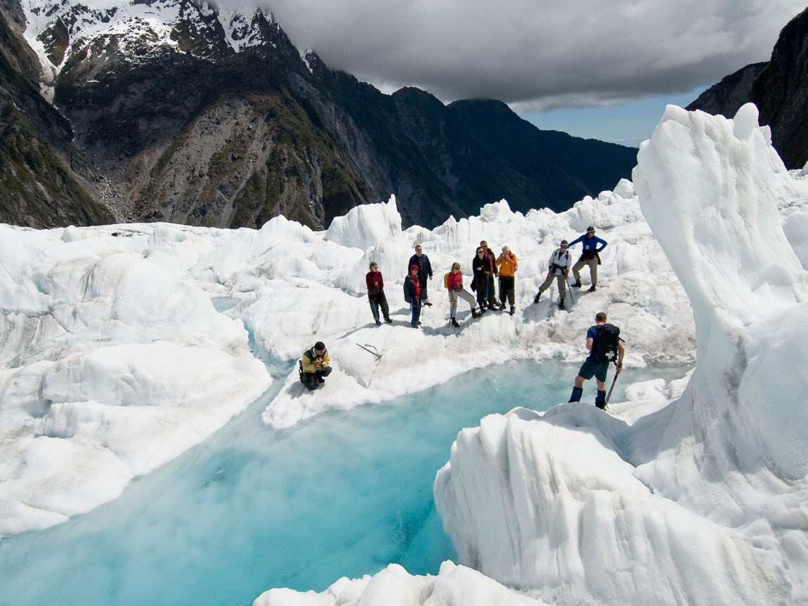 new zealand west coast franz josef glacier hike twc
