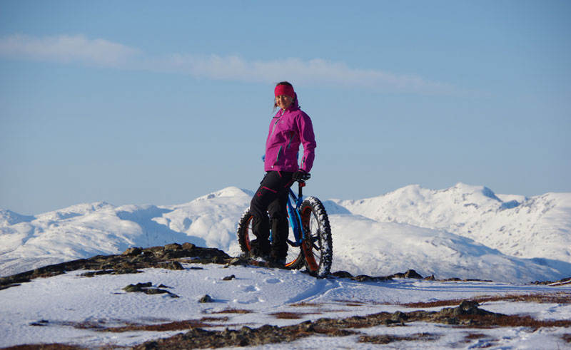 northern norway malangen fat bike rental