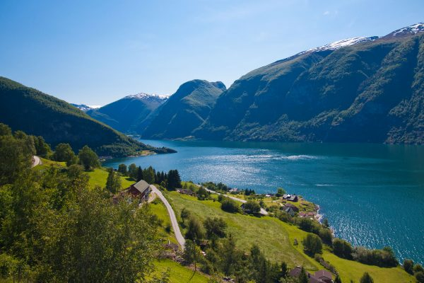 norway fjords aurland view istk