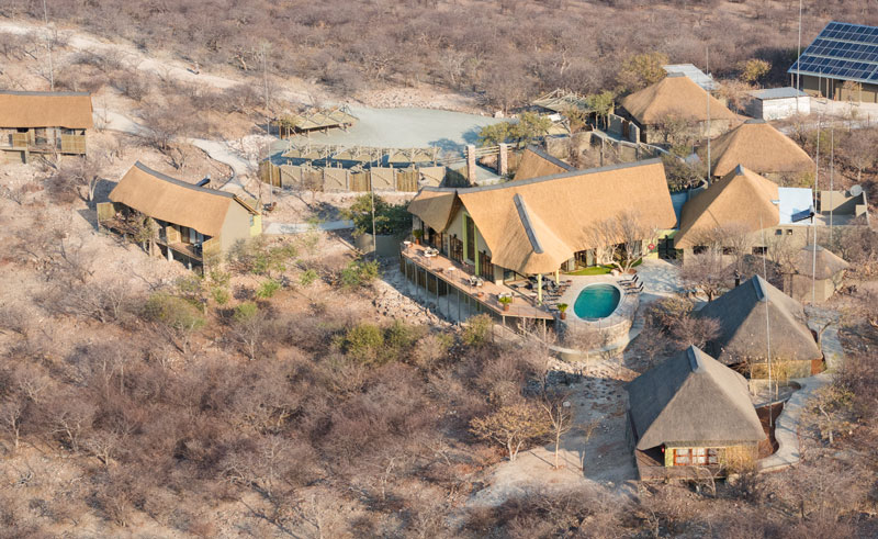 safarihoek lodge aerial