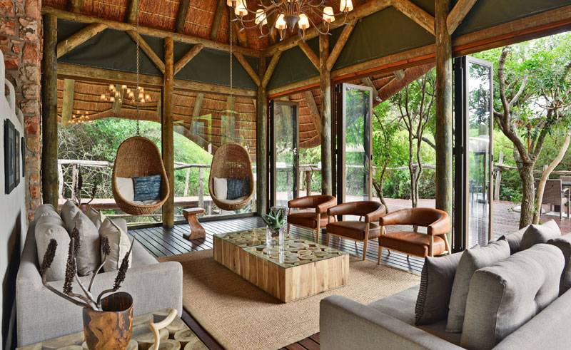 shamwari bayethe tented lodge lounge