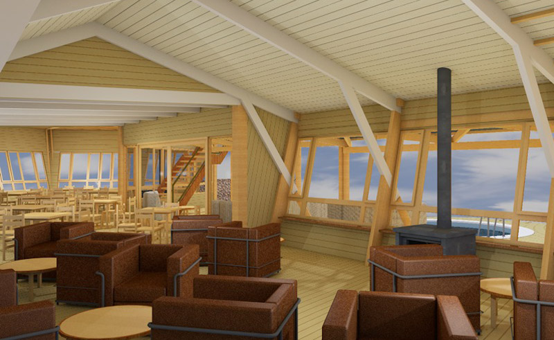 shipwreck lodge lounge concept