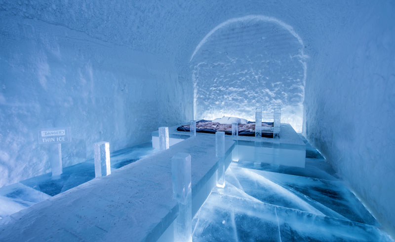 swedish lapland 365 art suite icehotel ak