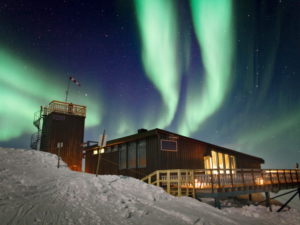swedish lapland aurora sky station abisko northern lights pr