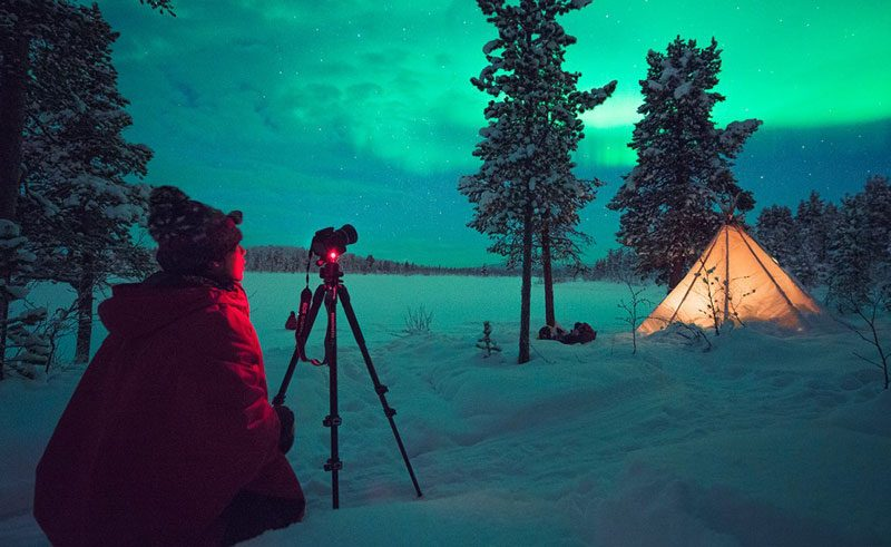 swedish lapland icehotel northern lights photography ih