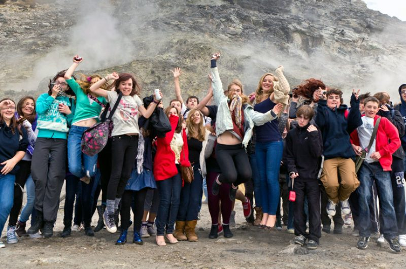 Italy Students Group Solfatara 2