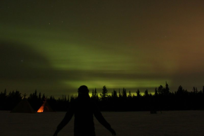 Sapmi Nature Camp Northern Lights 17