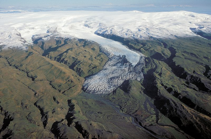 Solheimajokull in 2007 download