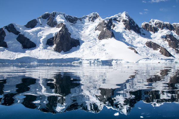antarctica booth island reflection pleneau bay istk