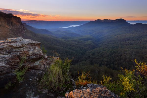 australia new south wales blue mountains jamison valley istk