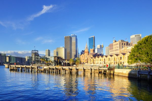 australia new south wales sydney the rocks circular quay istk