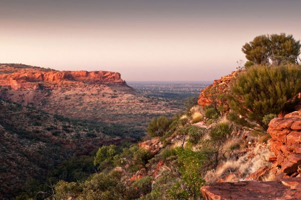 australia northern territory kings canyon sunrise istk