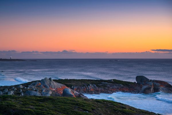 australia tasmania bay of fires eddystone point lookout tt