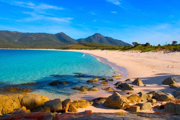 australia tasmania wineglass bay beach istk