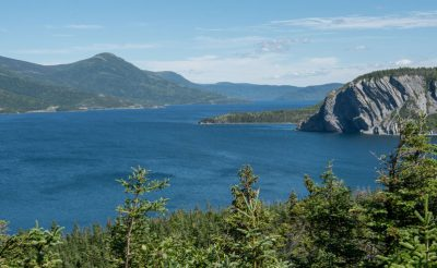 canada newfoundland bonne bay gros morne view gte