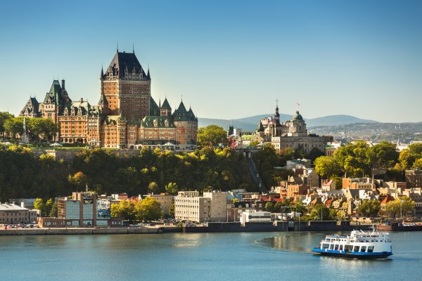 canada quebec city skyline istk