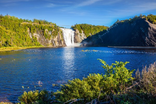 canada quebec montmorency falls adstk