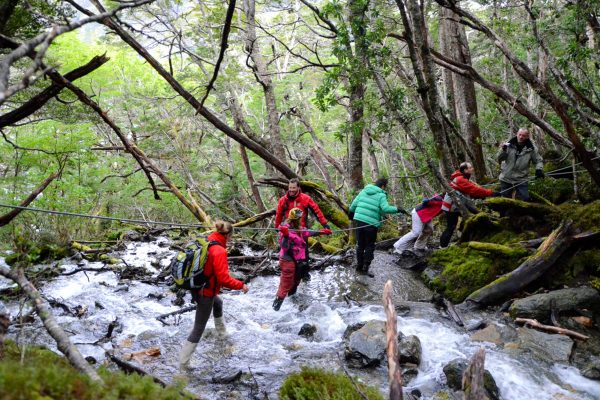 chile argentina tierra del fuego sub polar forest hike aust
