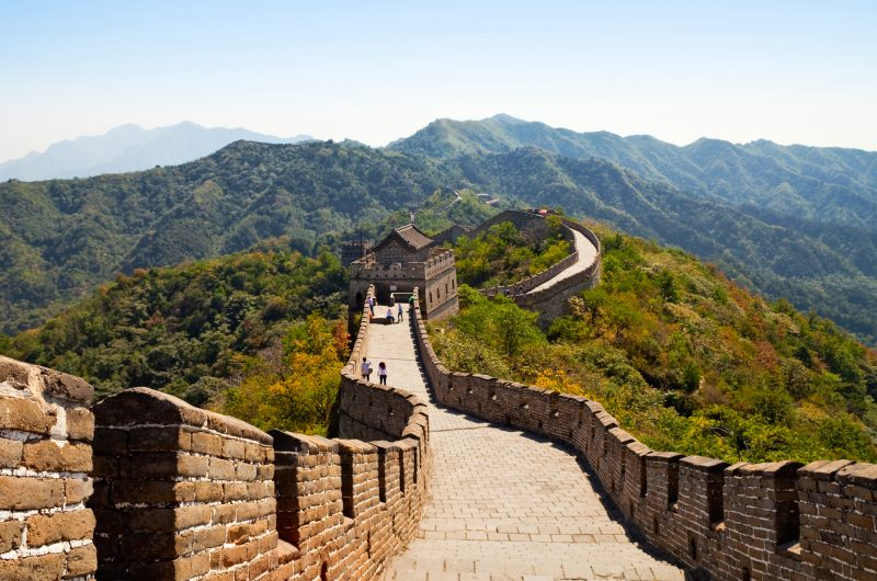 china great wall of china view istk