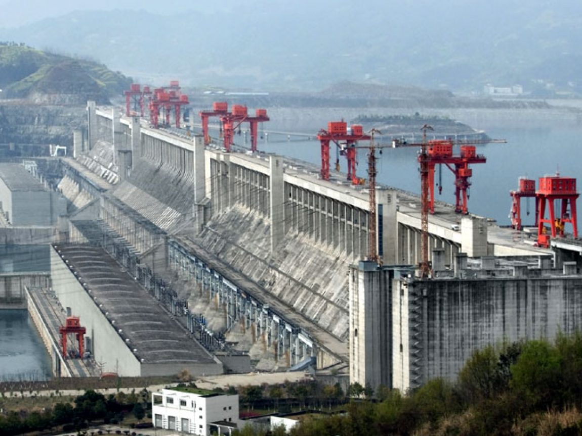 china yangtze river three gorges dam