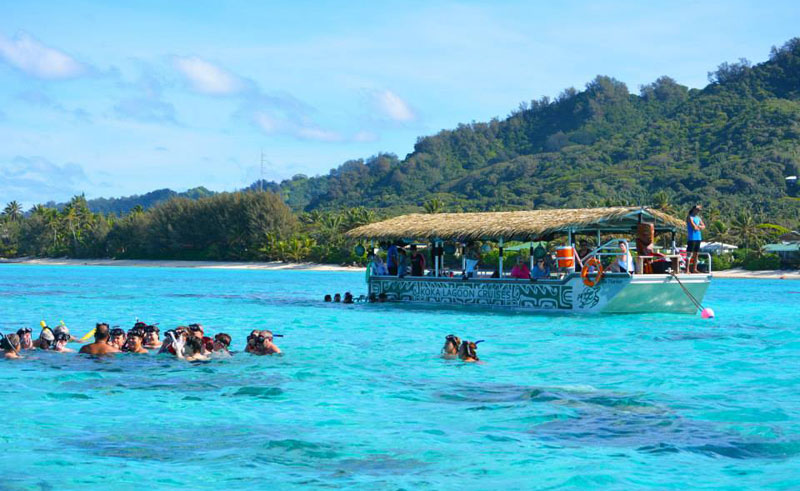cook islands rarotona koka lagoon cruise
