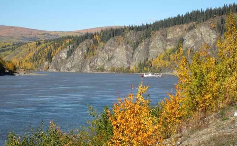 dawson city autumn foliage yukon jc