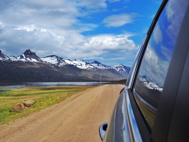 east iceland road view sophie radcliffe