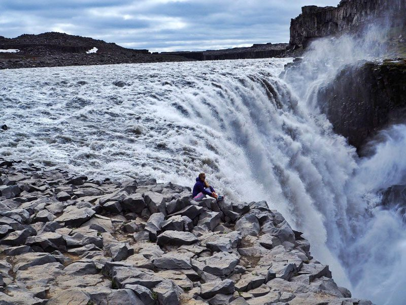 east iceland waterfall sophie radcliffe