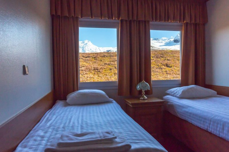 edu iceland hotel skaftafell bedroom