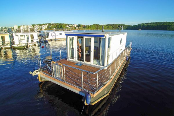 finland central houseboat moored fh