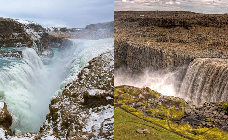 gull foss vs dettifoss