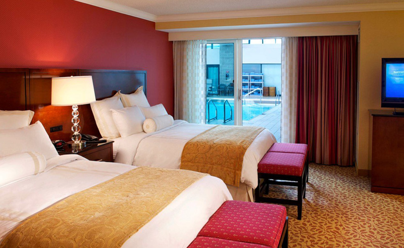 halifax marriott harbourfront hotel double room