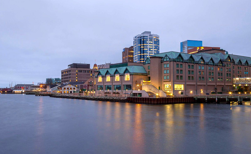 halifax marriott harbourfront hotel exterior