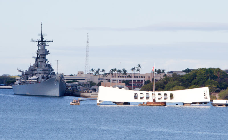 hawaii oahu pearl harbour and north shore